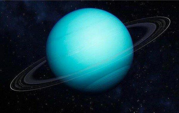 уран фото планеты из космоса