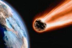 Астероид в планета