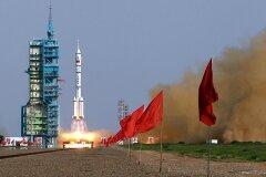 КНР пуск ракеты