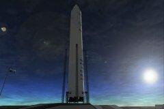 Космическая ракета SpaceX